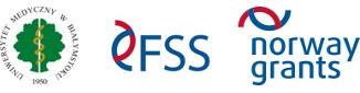 Logotypy: Uniwersytet Medyczny w Białymstoku | FSS | Norway Grants